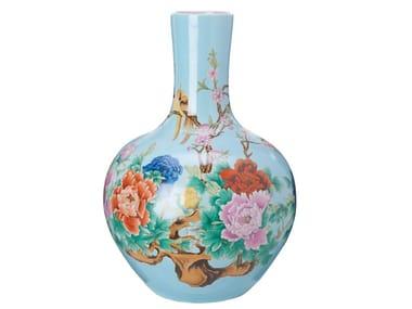Vaso in porcellana in stile orientale BALL | Vaso