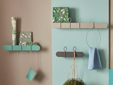 Metal coat rack / wall shelf BALLOON