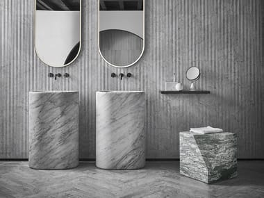 Freestanding marble washbasin BALNEA | Freestanding washbasin