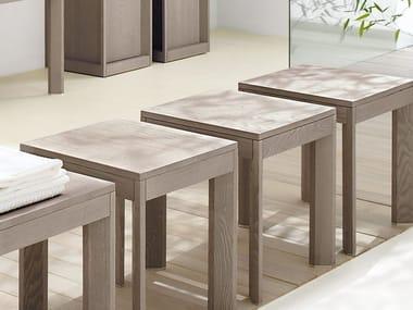 Ash bathroom stool DOGI | Bathroom stool
