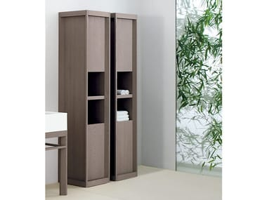 Column ash bathroom cabinet DOGI | Column bathroom cabinet