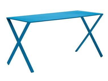 Aluminium table / writing desk BAMBI