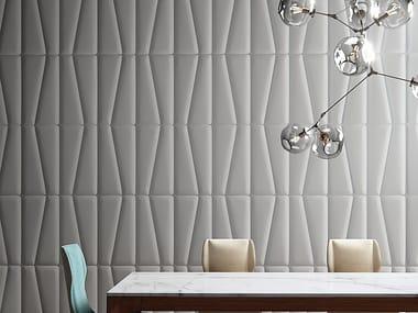 Geometric vinyl wallpaper BAMBOO