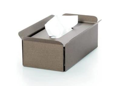 Tissue dispensers BANDONI | Portafazzolettini alluminio sabbia