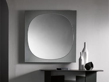 Espelho quadrado de parede BANDS | Espelho quadrado