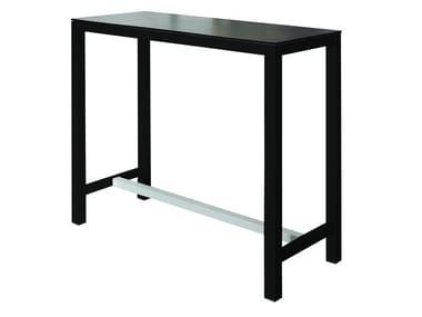 Rectangular laminate high table BANKET   Laminate table