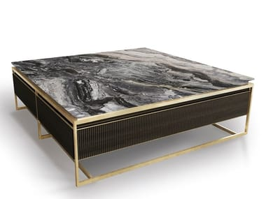 Marble Coffee Table With Storage 11