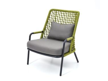Garden armchair with armrests BANYAN TREE | Garden armchair