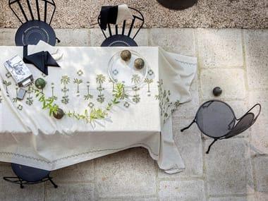 Linen tablecloth BARBADE