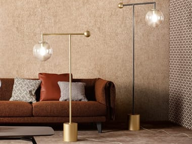 LED painted metal floor lamp BARDOT | Floor lamp