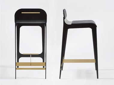 Barstool with footrest BARDOT | Stool