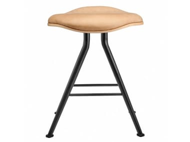 Low stool with integrated cushion BARFLY | Stool with integrated cushion