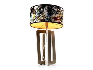 Lampada da tavolo in legno BARNABY - 740210 | Lampada da tavolo