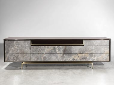 Lacquered sideboard with drawers BARNEY