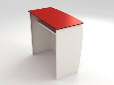 Illuminated glass-fibre bar counter BARRA | Glass-fibre bar counter