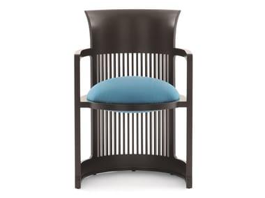 Solid wood easy chair 606 BARREL / BARREL TALIESIN