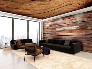 Soffitto teso / Parete tesa in PVC BARRISOL® Effetto legno