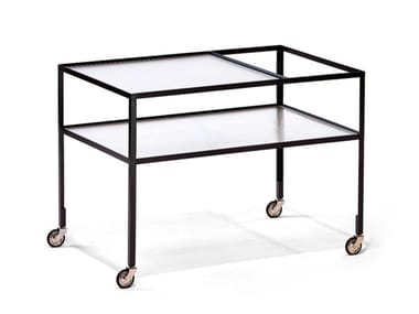 Steel drinks trolley BARWAGEN