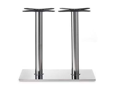 Stainless steel table base BASE 405