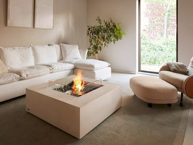 Outdoor freestanding bioethanol fireplace BASE