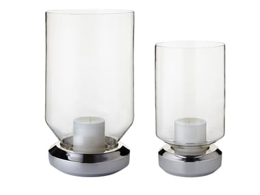 Glass candle holder BASE LIGHT