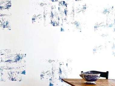 Screenprinted wallpaper BASEL