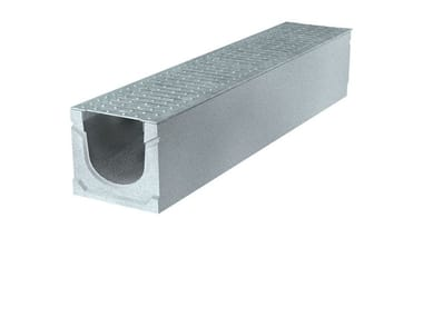 Concrete Drainage channel and part BASIC+ 150 H185 | Drainage channel and part