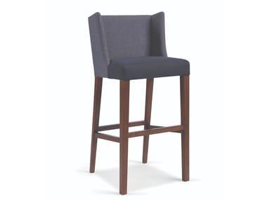 High upholstered stool BASIC BAR