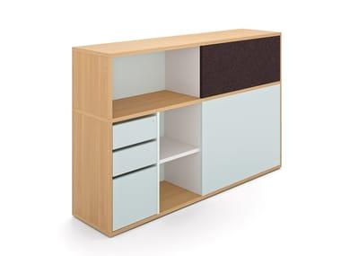 Reverse combination cupboard BASIC S   Office storage unit