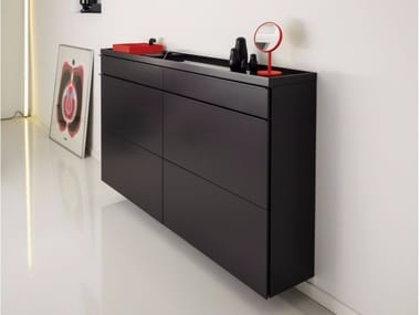 Superieur Wall Mounted Shoe Cabinet BASIC