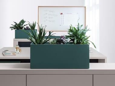 Rectangular planter BASIC TOP | Plant pot