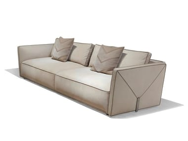 3 seater leather sofa BASTIAN | 3 seater sofa