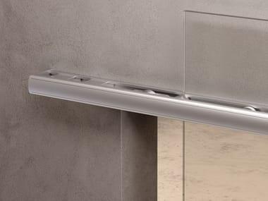 Metal sliding door track BATIK