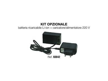 Batteria ricaricabile / caricatore BATTERIA RICARICABILE +CARICATORE 220V