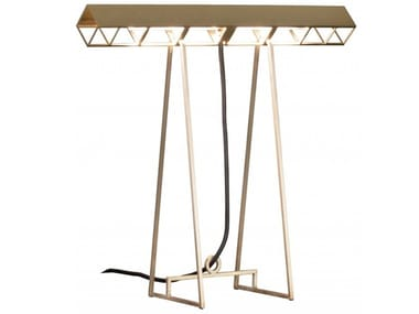 LED brass table lamp BAXTER - CURIOSITY