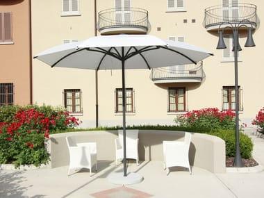 Round aluminium Garden umbrella BAY