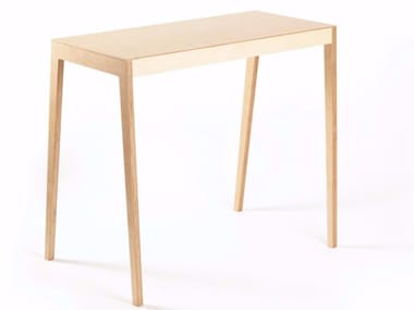 Rectangular multi-layer wood table BB | Table