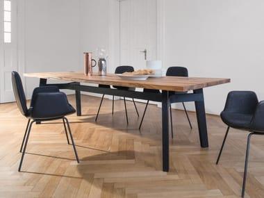 Esstisch aus Holz BB31 CONNECT | Rechteckiger Tisch