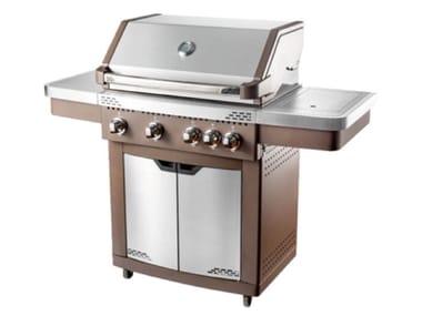 Barbecue a gas con carrello BBQ  GENERATION FUNPRO ACCIAIO INOX