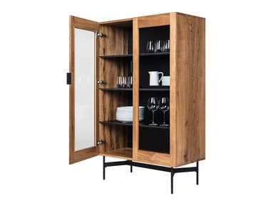 Wood and glass display cabinet BC04 | Display cabinet