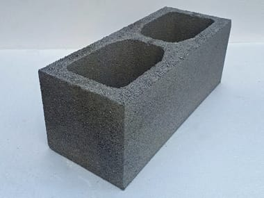 Lightened concrete block for external walls BC20 | Lightened concrete block for external walls