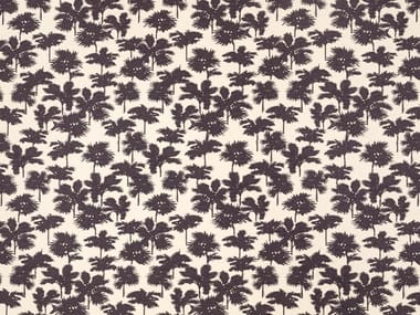 Jacquard cotton fabric with floral pattern BE BOP A LULA