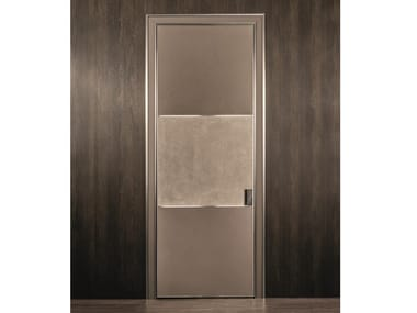 Leather sliding door BE MINE | Sliding door