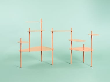 Metal bookcase / coffee table BEA