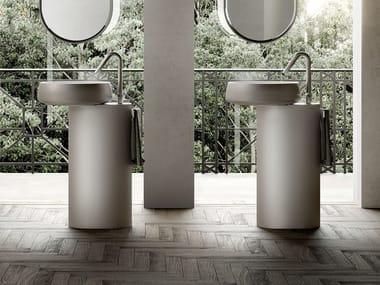 Freestanding Cristalplant® washbasin BEAUTY