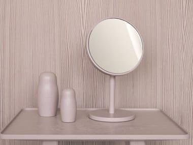 Specchio ingranditore rotondo da appoggio BEAUTY