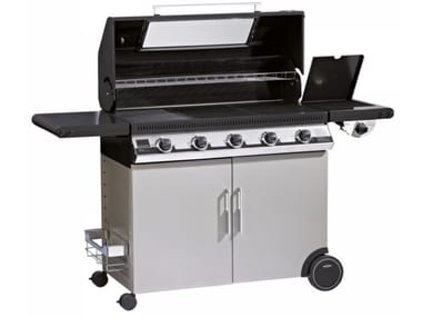 Barbecue a gas con carrello BEEFEEATER DISCOVERY 1100E 5 FUOCHI