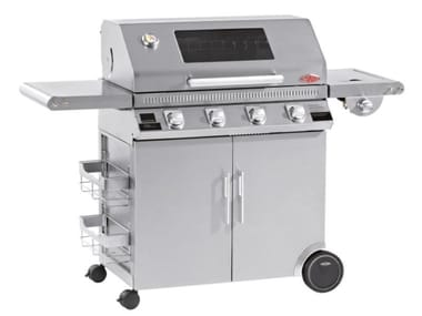 Barbecue a gas con carrello BEEFEEATER DISCOVERY 1100S 4 FUOCHI