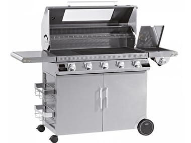 Barbecue a gas con carrello BEEFEEATER DISCOVERY 1100S 5 FUOCHI