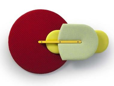 Fabric Decorative acoustic panel BEETLE
